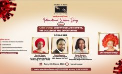 Rose of Sharon Foundation – International Widows' Day 2020